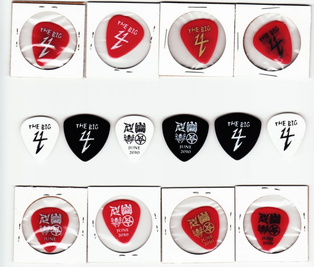 The Big 4 - Complete Guitar Pick Set