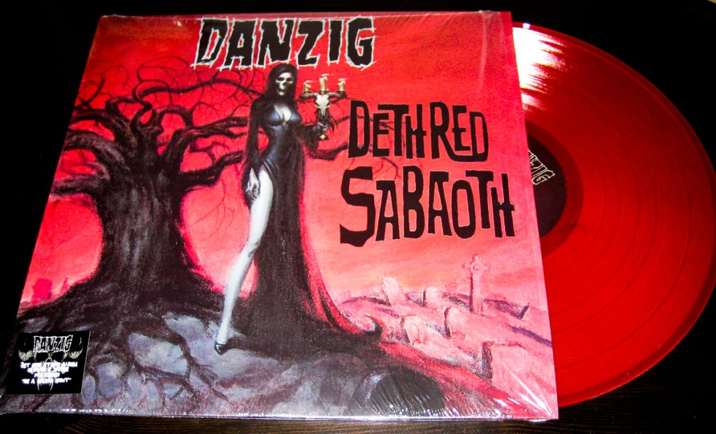 "Danzig - Deth Red Sabaoth - 12"" Red Vinyl"