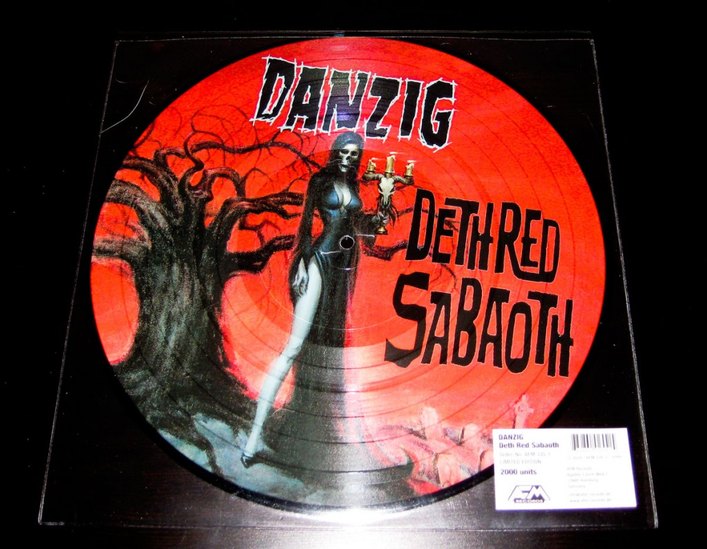 "Danzig - Deth Red Sabaoth - 12"" Vinyl Picture Disc"