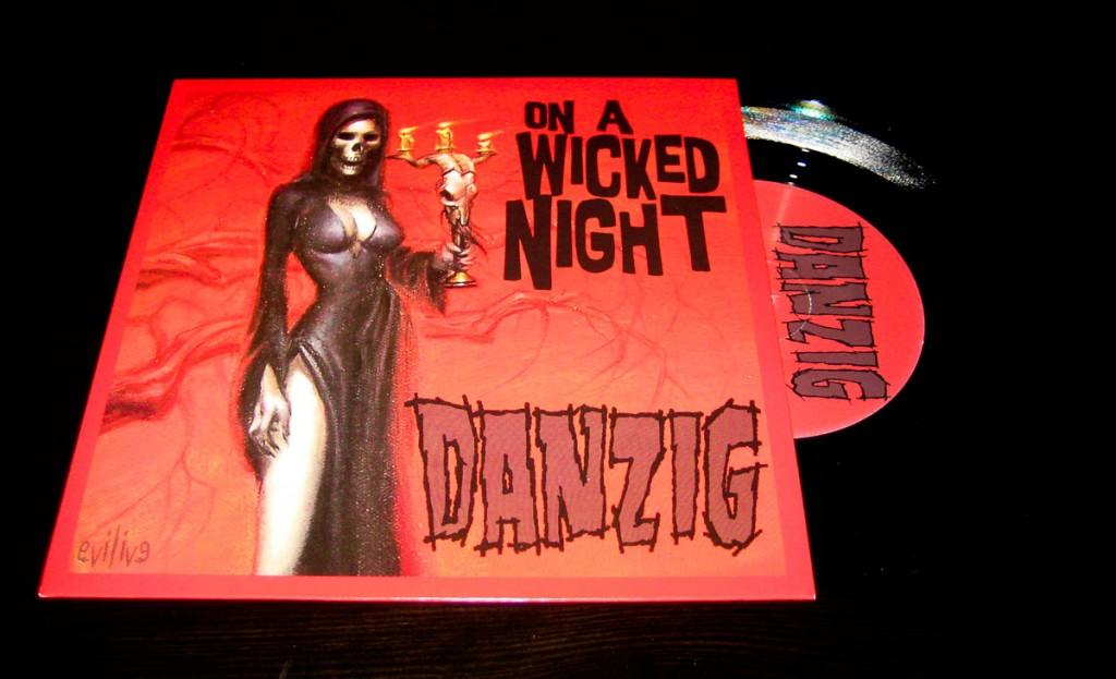"Danzig - On a Wicked Night - 7"" Single"