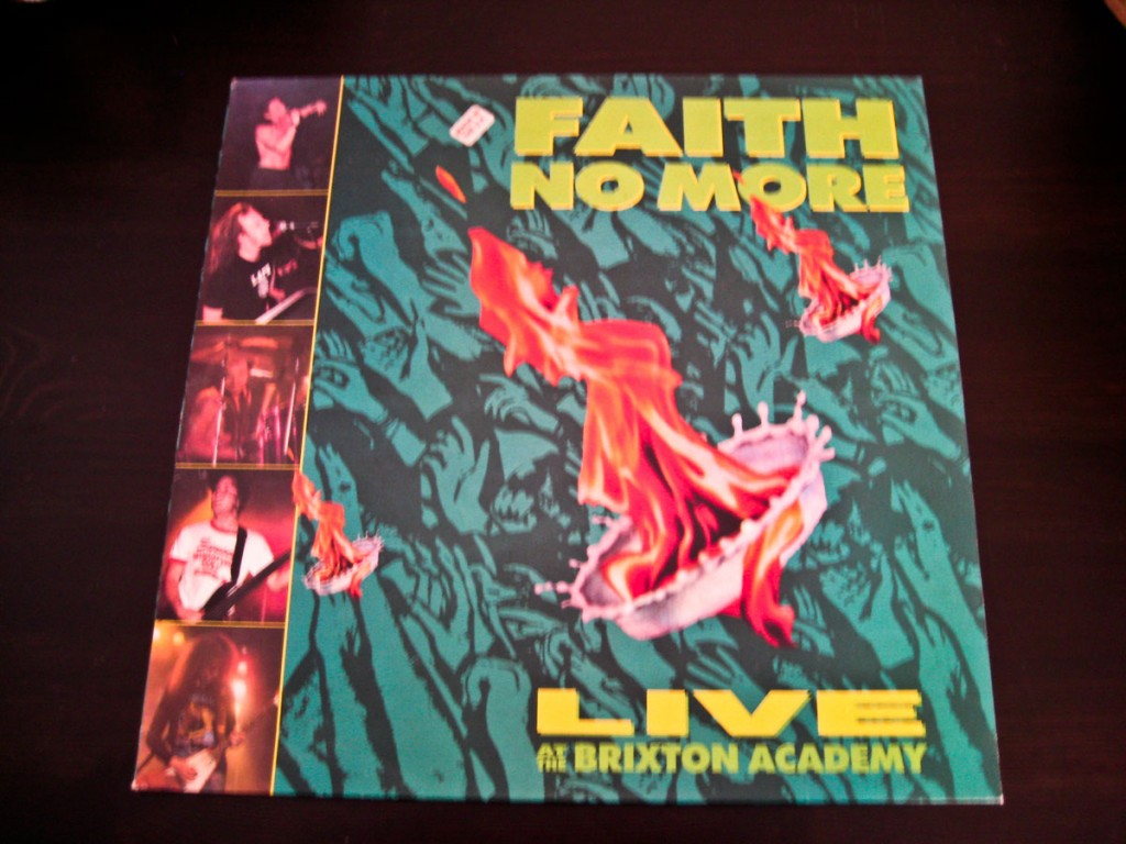 "Faith No More - Live at the Brixton Academy 12"" Vinyl"