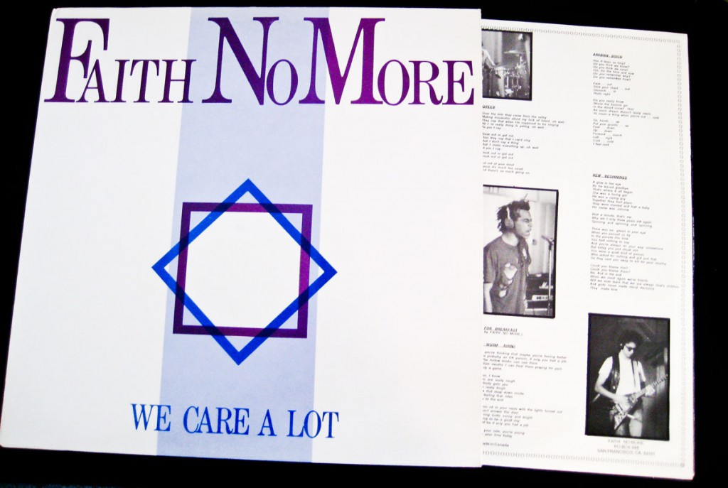 "Faith No More - We Care A Lot 12"" Vinyl"