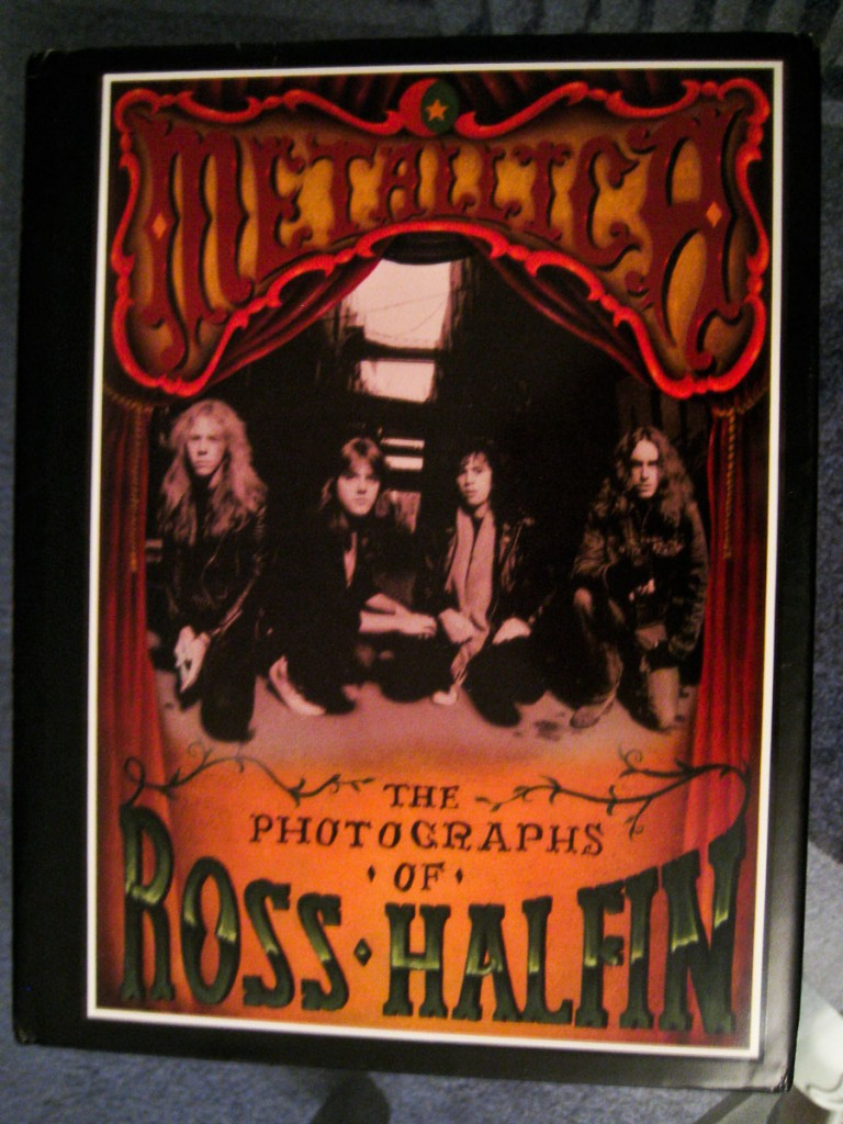 Metallica: The Photographs of Ross Halfin (Hardcover - Autographed)