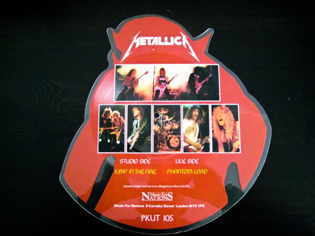 Metallica - Jump in the Fire Shaped Picture Disc