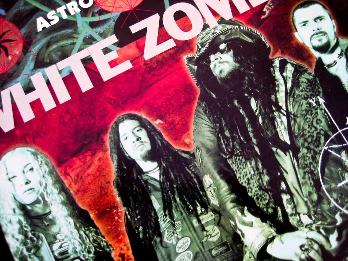 White Zombie Astro Creep 2000 12 Blue Vinyl