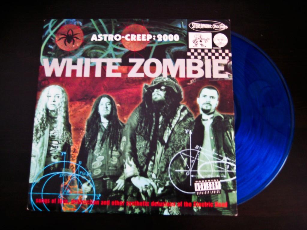 """White Zombie - Astro Creep: 2000 - 12"""" Blue Vinyl"""